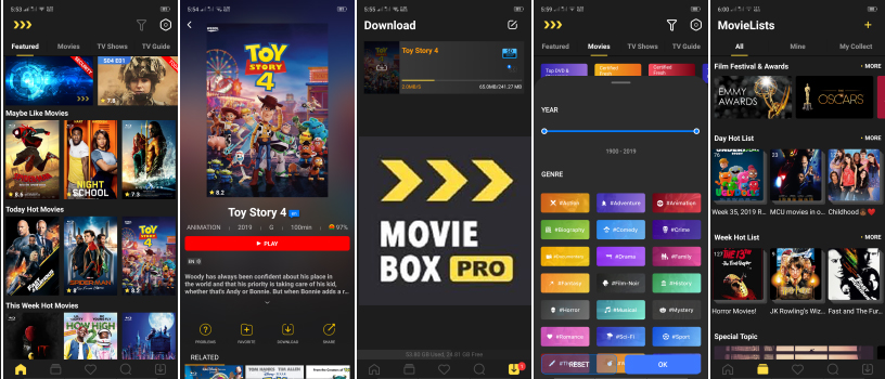 Download latest MovieBox pro apk latest version for android free